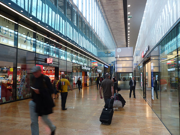 La Nouvelle Gare De Cornavin Bythelake Fr