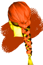 tresse-foulard