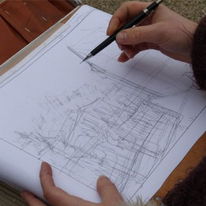 Marion Jiranek crayonné