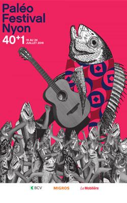 Paleo festival affiche