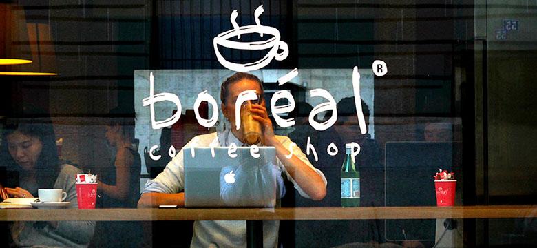 Boréal coffee