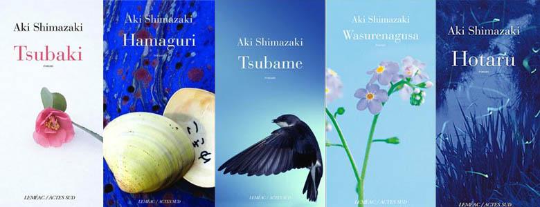 Aki Shimazaki books1