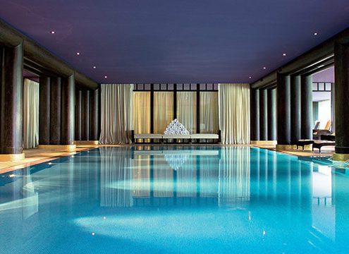 piscine d'intérieur La Réserve Genève