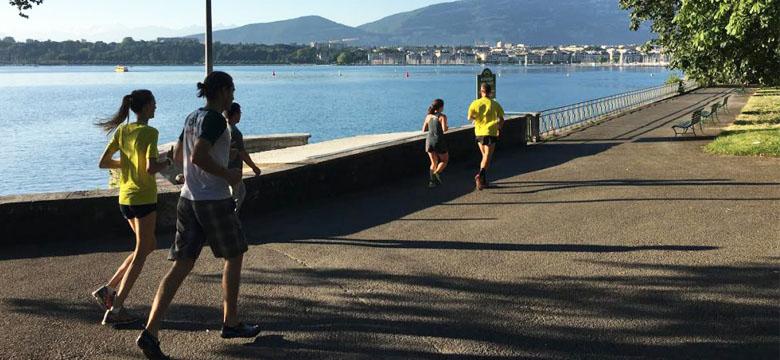 Morning running Geneva 4