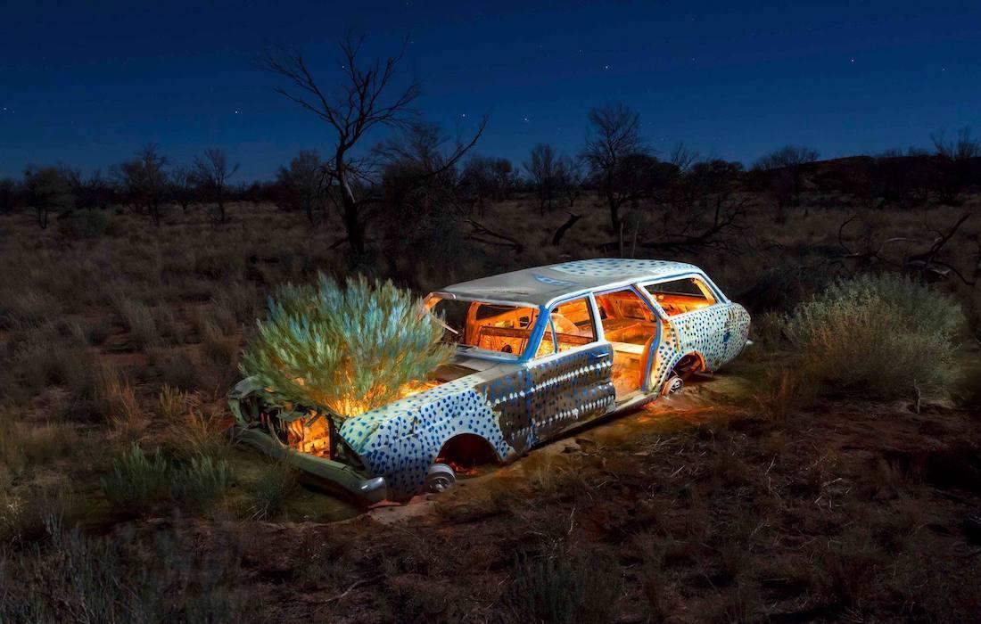 robert fielding graveyards in between 2017 fondation opale lens