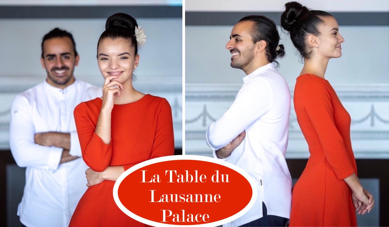 La Table du Lausanne Palace, septembre 2020