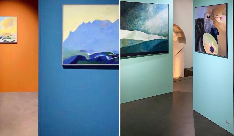 Thierry Vernet, exposition, Espace Muraille, septembre 2020