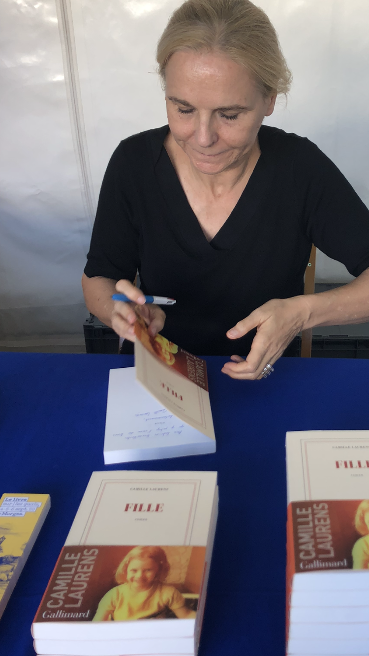 Camille Laurens, le livre sur les quais , Morges, 2020
