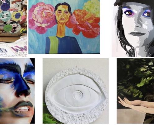 Marie Bagi, l'Espace Artistes Femmes, octobre 2020