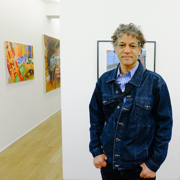 6.1 Chris DAZE Ellis, artiste américain @Speerstra et ses artistes