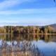 Lac de Bret automne