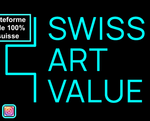 SWISS ART VALUE, plateforme digitale art suisse exclusivement