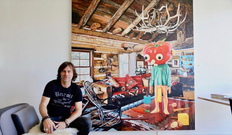 Dans l'atelier de Stéphane Ducret à Genève