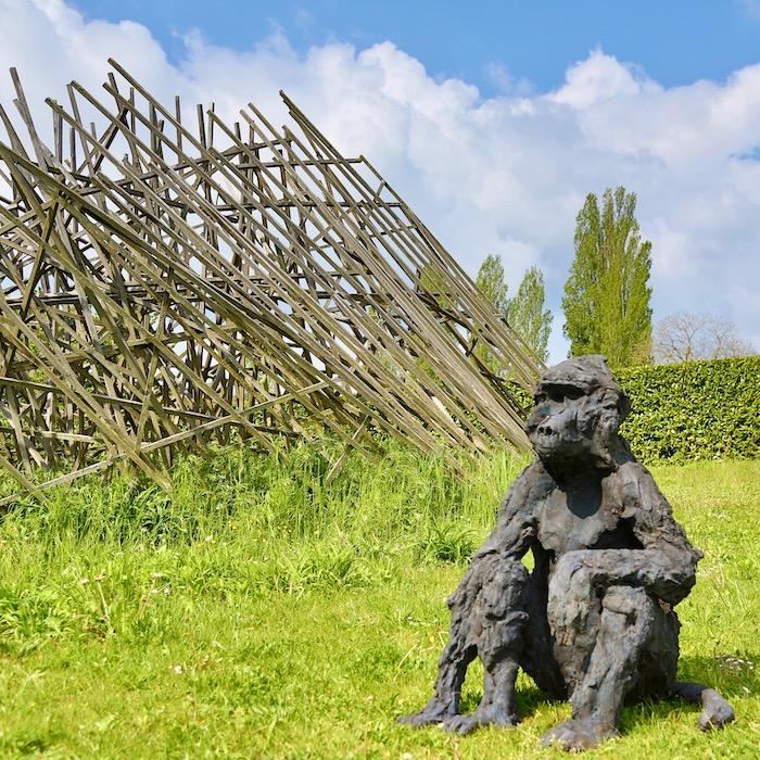 sculptures de Davide Rivalta, château de Vullierens, juin 2021