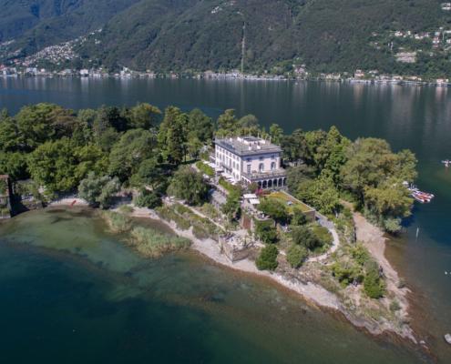 Villa Emden, Isole Brissago, Tessin, Sophie Bernaert, juin 2021