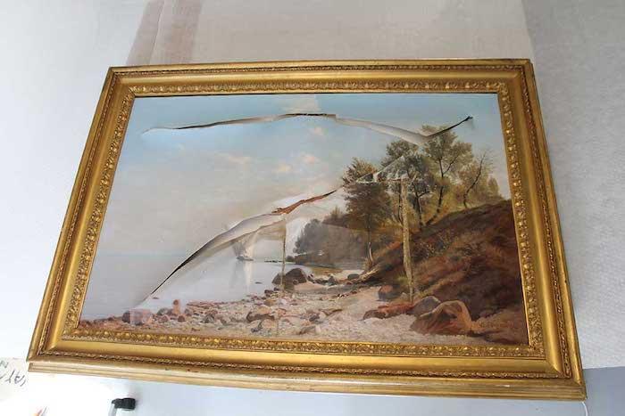 Vue du lac - Nathanaël Lemaitre (1831-1897)
